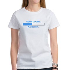 GENIUS LOADING... Women's T-Shirt