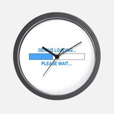 GENIUS LOADING... Wall Clock