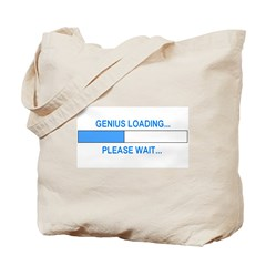 GENIUS LOADING... Tote Bag
