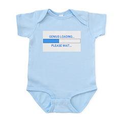 GENIUS LOADING... Infant Bodysuit