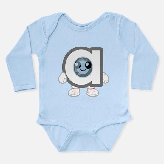 a Long Sleeve Infant Bodysuit
