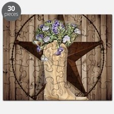rustic barn texas cowgirl boots Puzzle