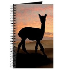 Alpaca Sunset Journal