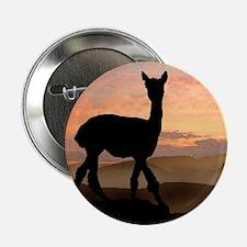 Alpaca Sunset Button