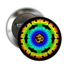 Om Mandala Button