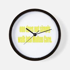 Molten Core Wall Clock