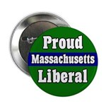 Proud Mass. Liberal Button