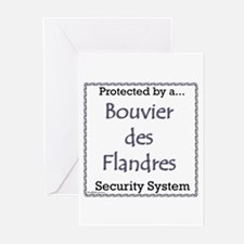 Bouvier Security Greeting Cards (Pk of 20)