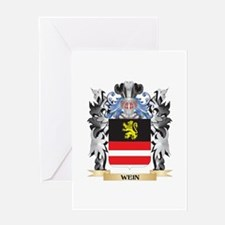 Wein Coat of Arms - Family Crest Greeting Cards