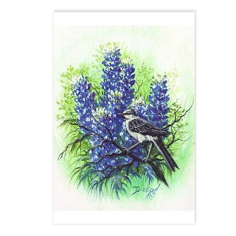 Mockingbird Postcards (Package of 8)