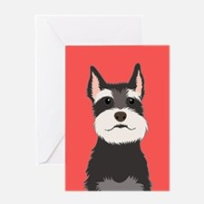 Schnauzer Greeting Cards