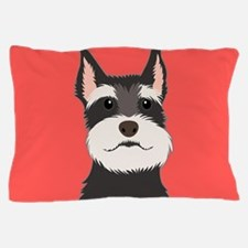 Schnauzer Pillow Case