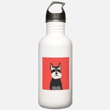 Schnauzer Water Bottle