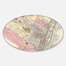 Vintage Map of Albany NY (1 Decal