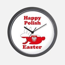 Polish Easter Wall Clock