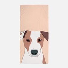 Jack Russell Terrier Beach Towel