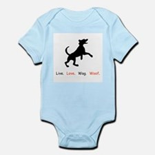 Live Love Wag Woof Dog Lover Gifts Body Suit