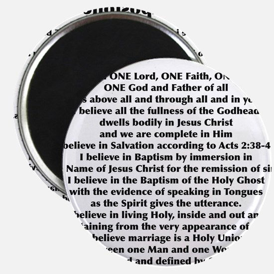 Apostolic Christian Magnets