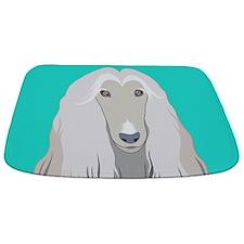 Afghan Hound Bathmat