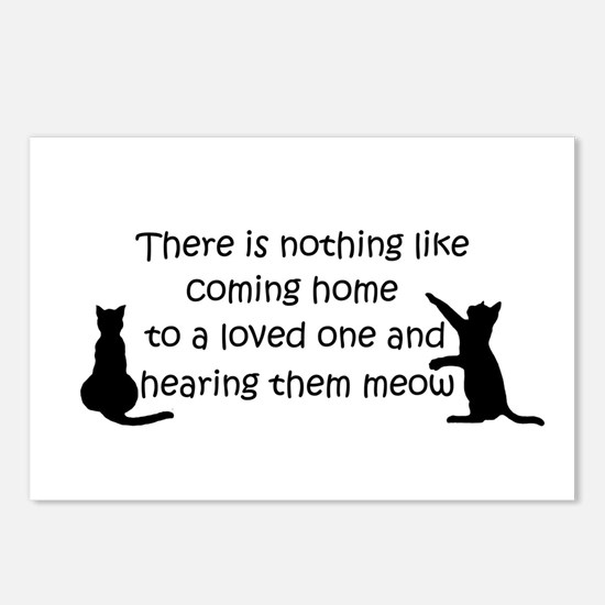 Coming Home to aCat Postcards (Package of 8)