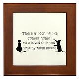 Cat Framed Tiles