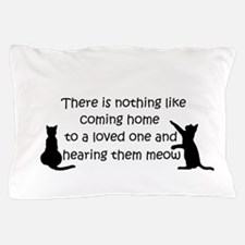 Coming Home to aCat Pillow Case