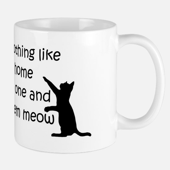Coming Home to aCat Mugs