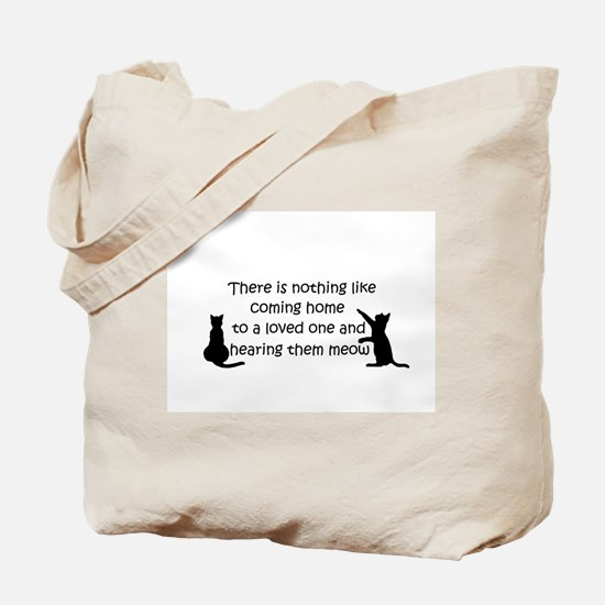 Coming Home to aCat Tote Bag