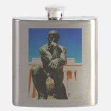 The Thinker Flask