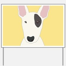 Bull Terrier Yard Sign