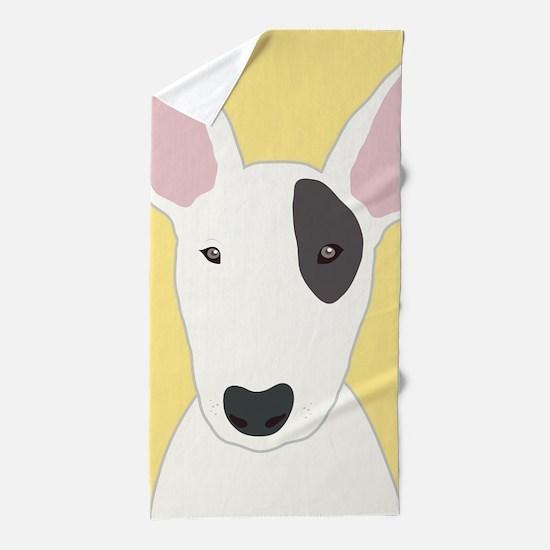 Bull Terrier Beach Towel