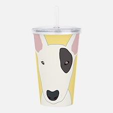 Bull Terrier Acrylic Double-wall Tumbler