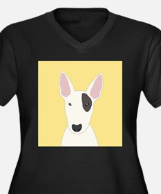 Bull Terrier Plus Size T-Shirt