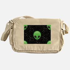 alien emojis Messenger Bag