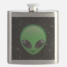 alien emojis Flask