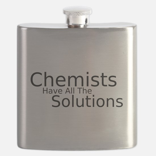 Chemists Have Solutions Flask