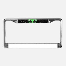 alien emojis License Plate Frame