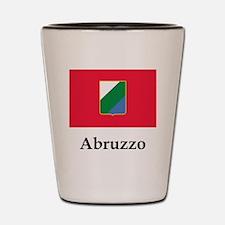 , Italy Flag Shot Glass