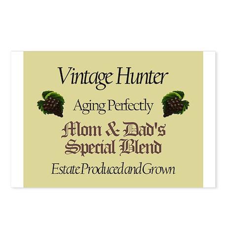 Vintage Hunter Postcards (Package of 8)