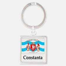 Cute Nation flag Square Keychain