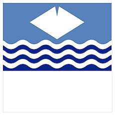 , England Flag Poster