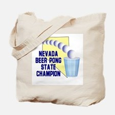 Nevada Beer Pong State Champi Tote Bag