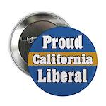 Proud California Liberal Button