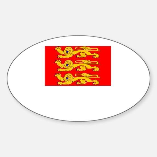 , France Flag Sticker (Oval)