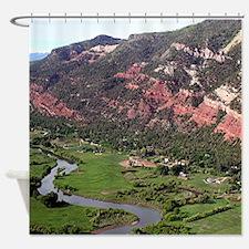 Near Durango, Colorado, from the ai Shower Curtain