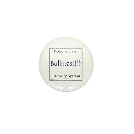 Bullmastiff Security Mini Button