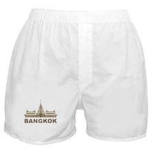 Vintage Bangkok Temple Boxer Shorts