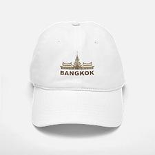 Vintage Bangkok Temple Baseball Baseball Cap
