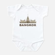 Vintage Bangkok Temple Infant Bodysuit