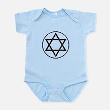 Jewish Star Body Suit